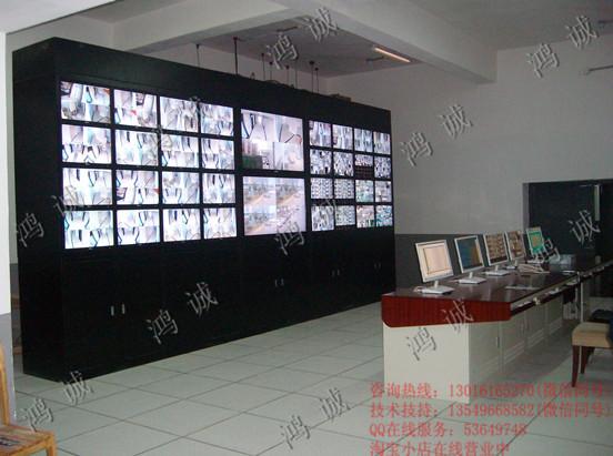 电视墙操作台组合